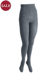 The Softest Wool-Blend Ribbed Tights Keep Legs Warm