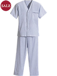 Cool Solution: Our Ultra-Light Men's 100% Cotton Voile Pajamas
