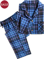Men's Plaid Flannel Pajamas